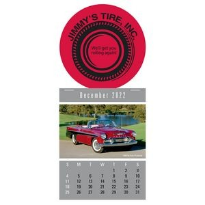 Cruisin' Cars Super Size Press-N-Stick™ Calendar