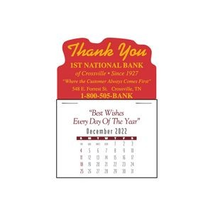 Contemporary 13 Month Magna-Stick™ Calendar Pad