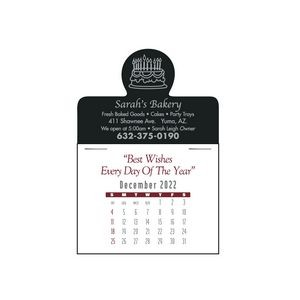Full Color Press-N-Stick™ Calendar (Contemporary Pad)