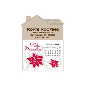 Spanish 13 Month Press-N-Stick™ Calendar Pad
