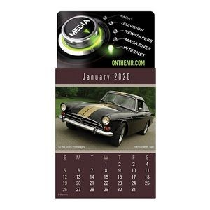 Cruisin' Cars Press-N-Stick™ 4 Color Calendar