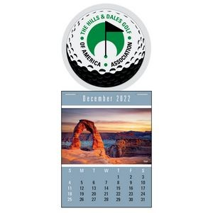 Scenic Super Size Press-N-Stick™ Calendar